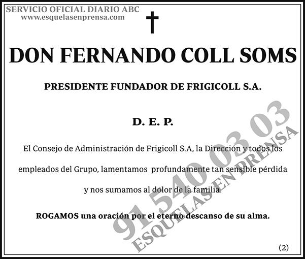 Fernando Coll Soms